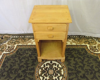 Restored Antique Side Table or Telephone Table
