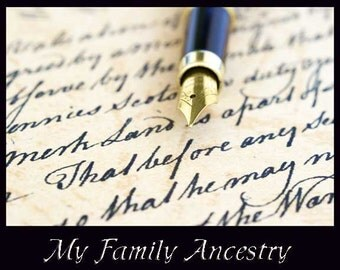 My Ancestry Memory Books - SIX Perfect Bound Full Color Copies