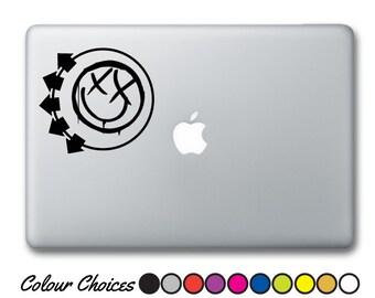 Blink 182 macbook sticker / car sticker. ( blink 182 decal, blink 182 car decal, laptop sticker, blink 182 guitar decal )