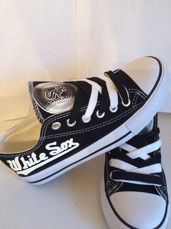 chicago white sox unisex adults tennis shoes by sportzshoeking