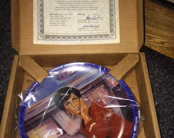 Star Trek Plate Uhura 1984 Hamilton Collection NEW W/CERT 4850B