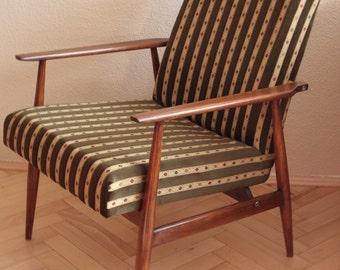 1960s vintage armchair restored