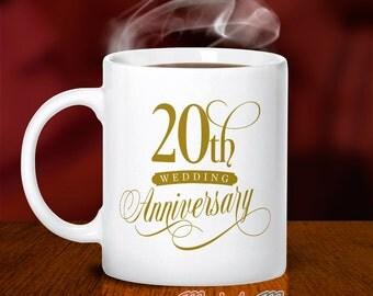 20th Wedding Anniversary China Gift