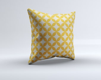 mustard throw pillow, modern throw pillow, yellow throw pillow, decorative pillow, 16x16, 18x18, 20x20 pillow