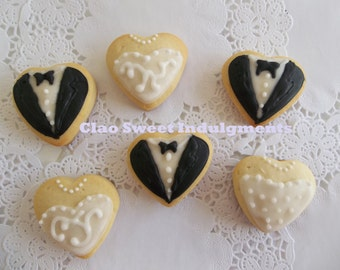 Wedding bite size favor/ bite size sugar cookie/ bite wedding favor/ 2 dozen