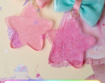 Sparkly Stars Earrings~