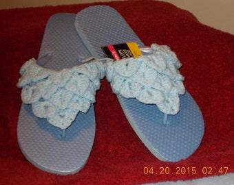 Light Blue Flip Flop