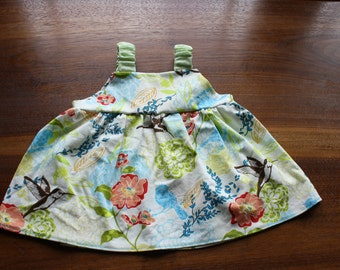 Simple summer dress for baby