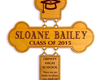 Personalized Graduation Cross , Custom Gift for Graduation, Congratulation Gift , College Graduation Gift, Christian Graduation Gif