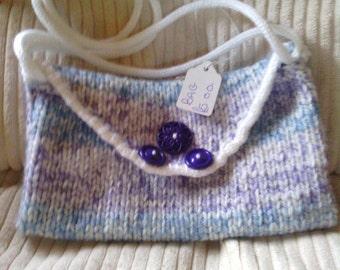 blue lilac bag