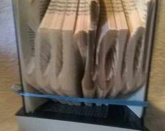Cariad(welsh for love) book folding pattern