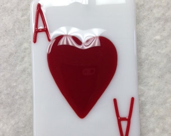 """Playing Card Ornaments """"Ace"""" 2.5""""x3.5"""""""