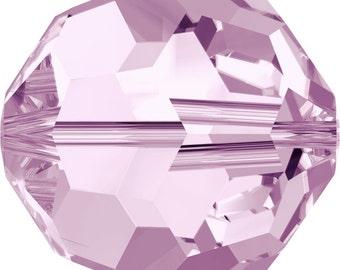 Swarovski Crystal Round Beads 5000 - 3mm 4mm 6mm 8mm 10mm - Rosaline