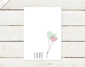 50 x wedding invitation | LOVE