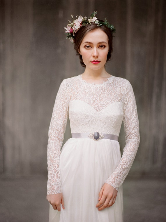 Top 10 Modest Wedding Dresses on Etsy » Buffalo Indie Weddings ...