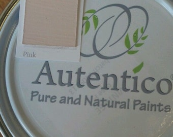 Pink   Autentico Chalk Furniture Paint   1L   Tester   No Prep, Paint  Straight On   Child / Baby Safe   Water Based