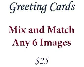 Adirondack Greeting Card / Note Card, Set of 6, Note Card, Nature Greeting Card, Blank Note Card, Photography Card, Photo Greeting Card