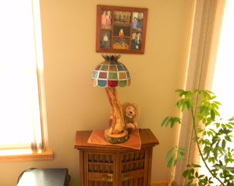 IRONWOOD TABLE LAMP