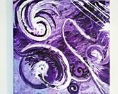 an original abstract acrylic painting