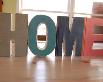 6.25 x 9.25 Letters 4 letters that spell home
