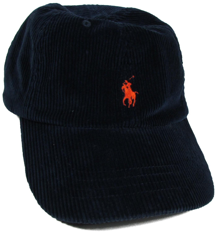5e8e14bb VINTAGE RALPH LAUREN Corduroy Cap Navy Blue Polo Hat – Haute Juice