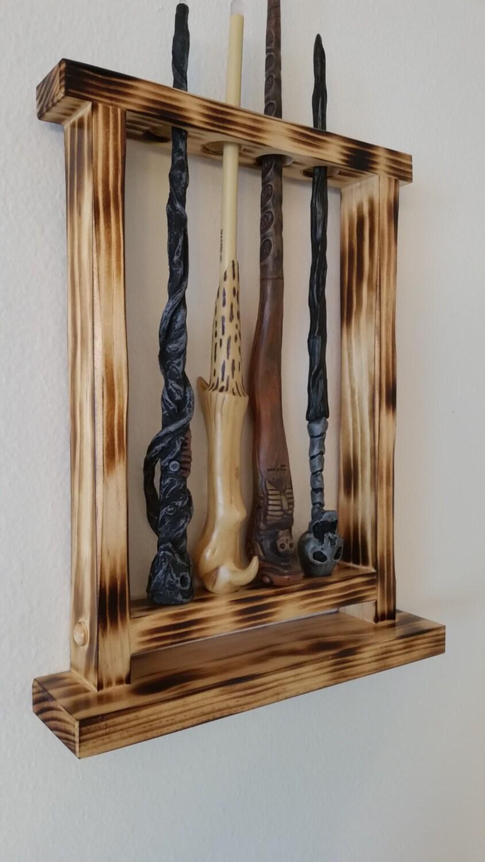 wand display wand holder magic wand display holder custom. Black Bedroom Furniture Sets. Home Design Ideas