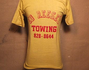 1970s tee with great typography