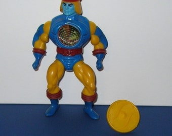 Vintage 1980s Mattel Masters of the Universe Sy Klone figure