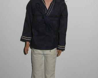 "Vintage 1960s Mattel 12"" Ken Doll (Barbie's Beau)"