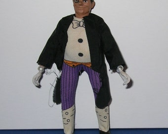 Vintage 1970s Mego DC Comics Batman Villian - The Penguin (Complete)