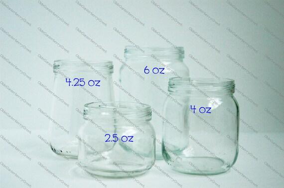 12 Baby Food Jars Empty Clean No Glue Residue