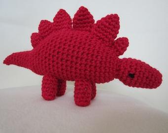 "Stegosaurus Amigurumi 9"""