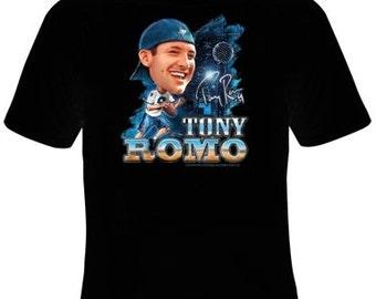 Tony Romo Football T-Shirt Women's Sizes