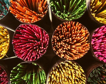 25 Premium SCENTS A-K Hand-Dipped Incense Sticks