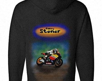Valentino Casey Stoner Moto GP World Champion sizes up to XXL