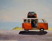 Road Trip Van Painting