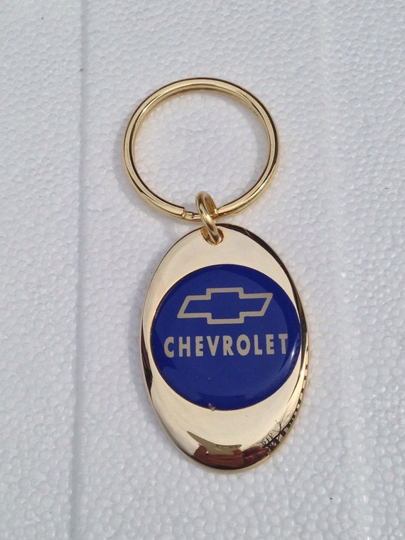 Where Can I Get A Key Made >> Chevy Keychain Solid Brass Gold Plated Chevrolet Key Chain