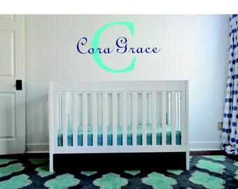Nursery Wall Monogram