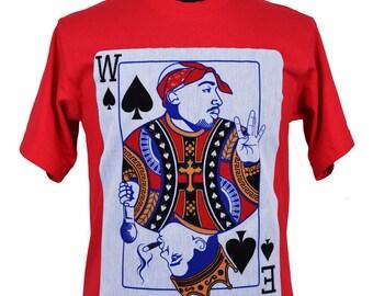 Tupac Shakur and Biggie King Card Shirt