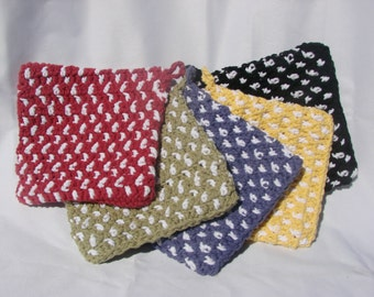 Crochet Cotton Potholder (Hotpad)