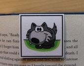 Magnetic Bookmark: Abraham, the Wolf