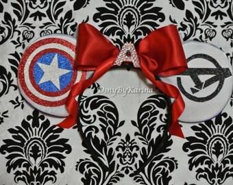 Captain America Marvel Ears!