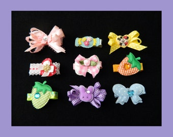 Baby Hair Clips Set 3
