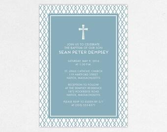 24 HOUR TURNAROUND - Baptism Invitation (Sean)