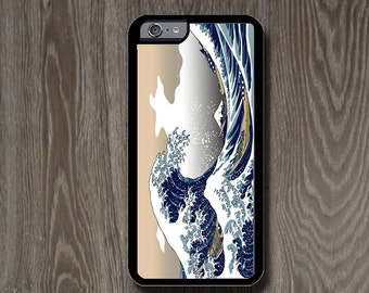 The Great Wave off Kanagawa by Katsushika Hokusai case for iPhone 6+/6 iPhone 5C/5S/5 , iPhone 4S/4 And for Galaxy S5/S4/S3