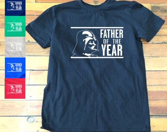 Father of The Year funny fathers day shirt | Darth vader father shirt-16