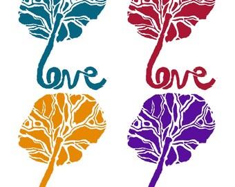 Placenta Love Sticker