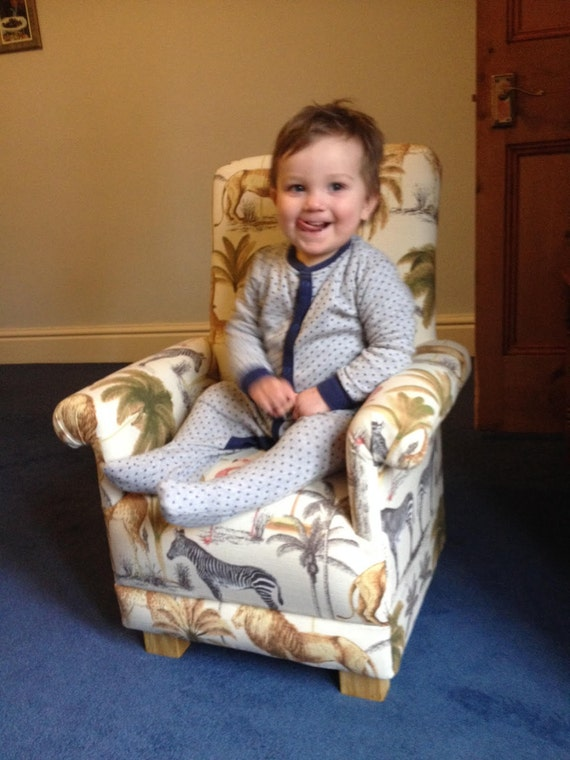 Laura Ashley Dinosaur Fabric Child S Chair By Chairsforcherub