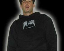 Mullet Junky Hooded sweatshirt black front pocket hoody super comfortable