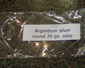 Argentium silver solder 1 foot 20 gauge Easy density